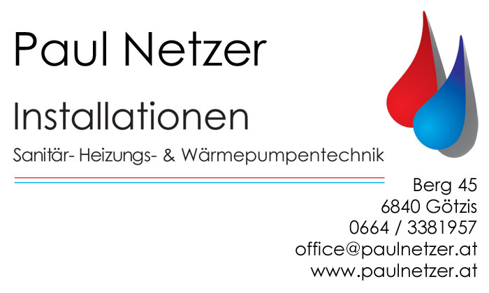 Paul Netzer Installationen in Götzis
